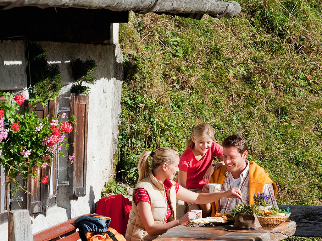 Familienurlaub in den Berchtesgadener Bergen
