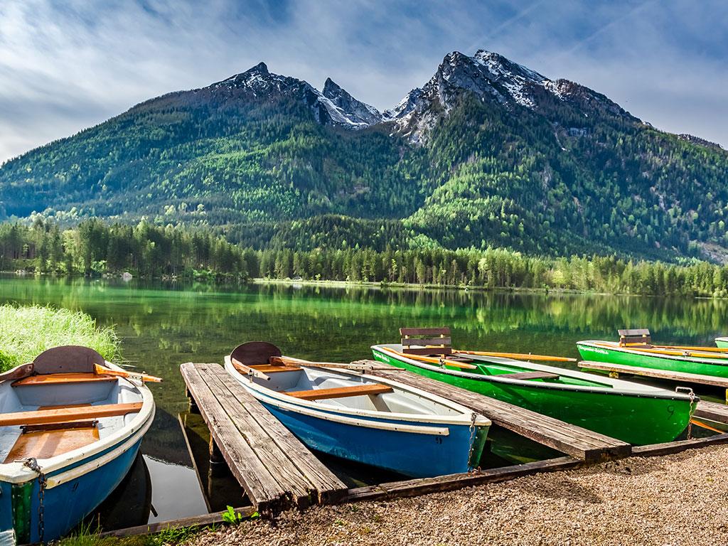 Sommerurlaub am Hintersee bei Berchtesgaden