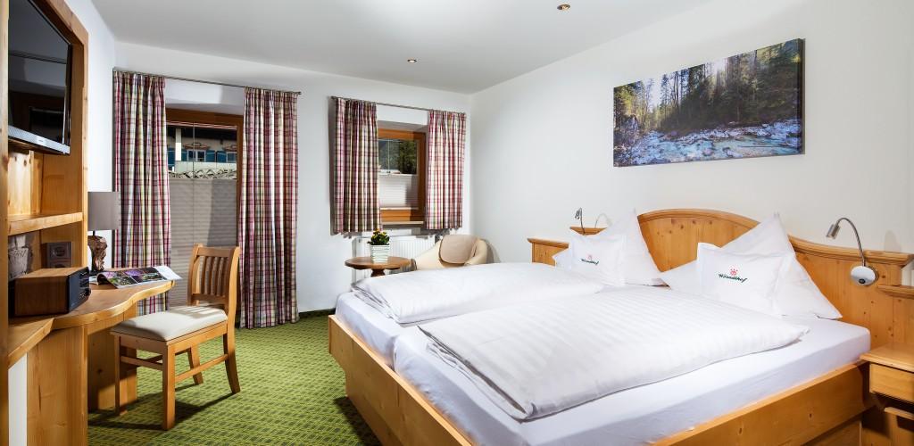 Zimmer im Gasthof Hotel Wörndlhof am Hintersee-Ramsau bei Berchtesgaden