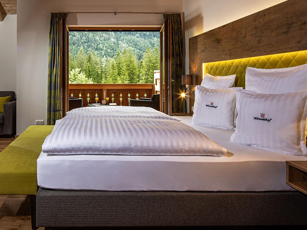 Das Refugium Wohlfühlzimmer R5 Hotel Hintersee Ramsau