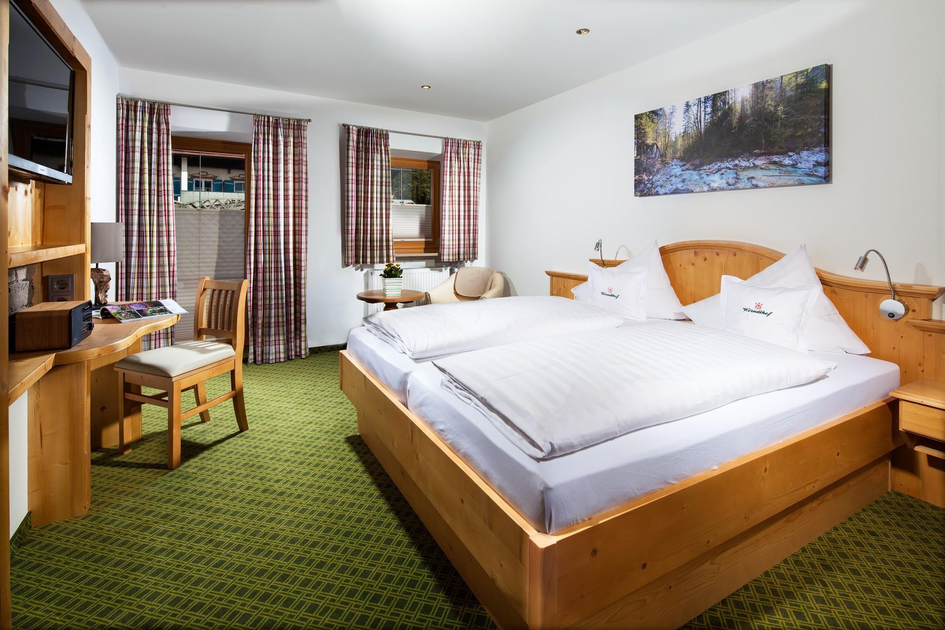 Comfort Doppelzimmer 7 Hotel Gasthof Wörndlhof Hintersee Ramsau