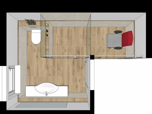 Wohlfühl-Doppelzimmer Refugium R2-3