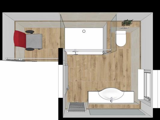 Wohlfühl-Doppelzimmer Refugium R4-3